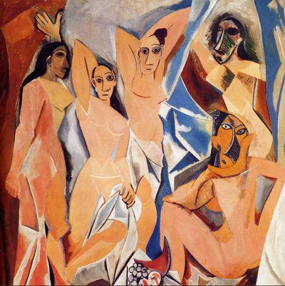 - Picasso: Les Demoiselles d'Avignon 1907Pablo Picasso and the Grebo masks, dialogue - Lucas Ratton