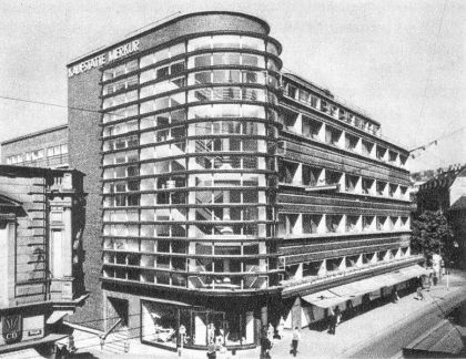 Kaufhaus Schocken by Erich Mendelsohn, Stuttgart, 1926-1928