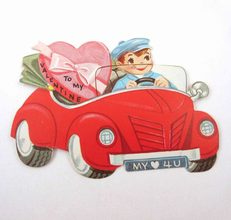 691 best CardsVintage Valentines images on Pinterest  Valentines