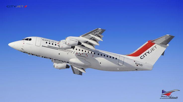 Toutes les tailles | CityJet / British Aerospace Avro RJ85 / EI-RJO | Flickr: partage de photos!