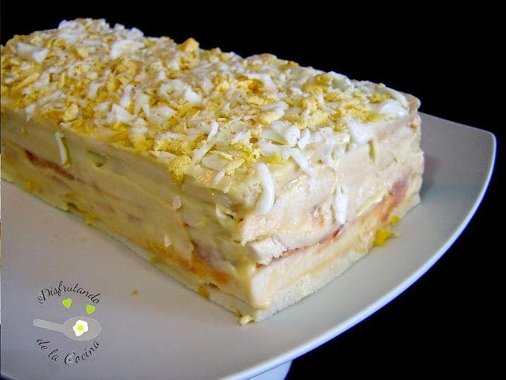PASTEL DE ATÚN FRÍO | Cocinar en casa es facilisimo.com  http://cocina.facilisimo.com/blogs/recetas-primeros/pastel-de-atun-frio_1176307.ht