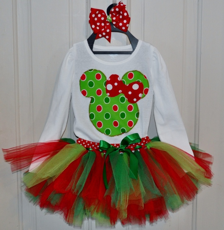 Minnie Mouse Tutu Set From The Fit For A Princess 2011