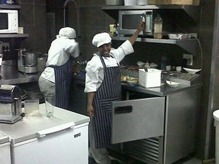 Karibu Restaurant ~ South African Dining ~ Cape Town Waterfront RSA ~ Our Staff!