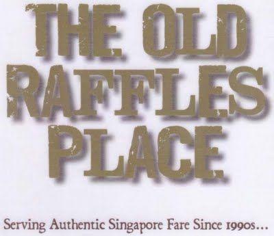 The Old Raffles Place, Singaporean