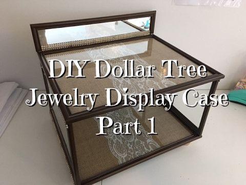 Best 25 jewelry display cases ideas on pinterest jewelry store diy dollar tree jewelry display case youtube solutioingenieria Gallery