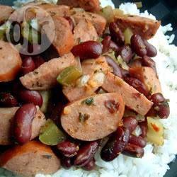 Louisiana rode bonen en rijst @ allrecipes.nl