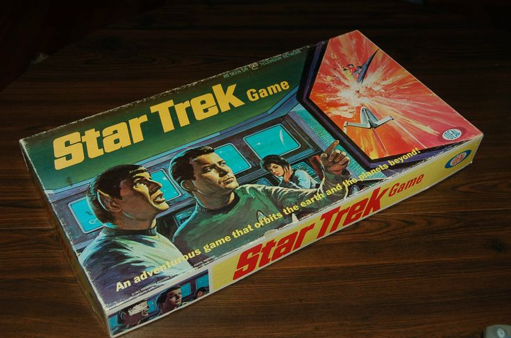 Star Trek Board Game Original Vintage 1967 by Ideal