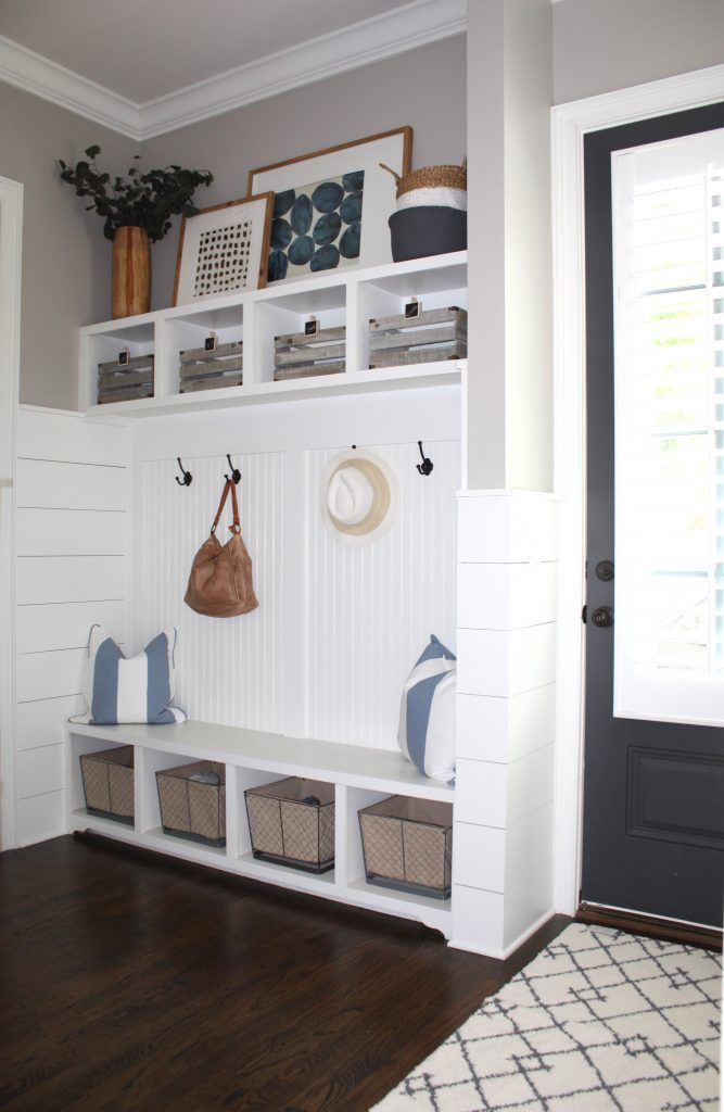 Entryway Mudroom Decor