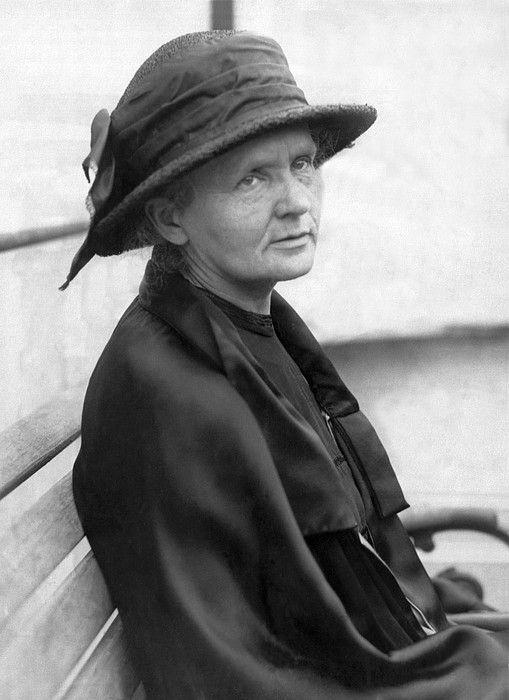 Marie Currie,Parijs 26/12/1923,Ontdekte Radium Met Haar Man.