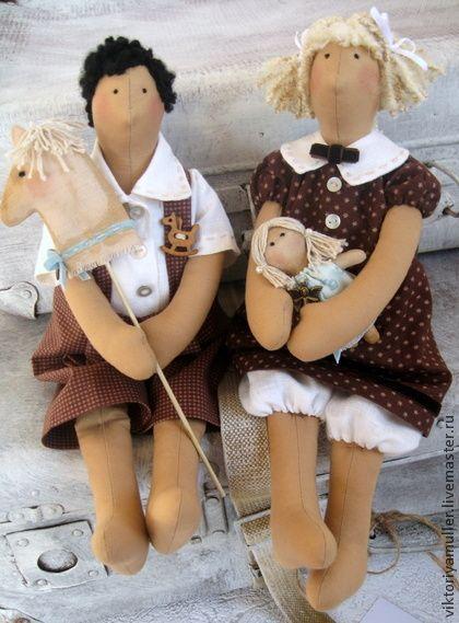 Куклы Тильды ручной работы. Ярмарка Мастеров - ручная работа Кукла в стиле Тильда  Девочка. Handmade.