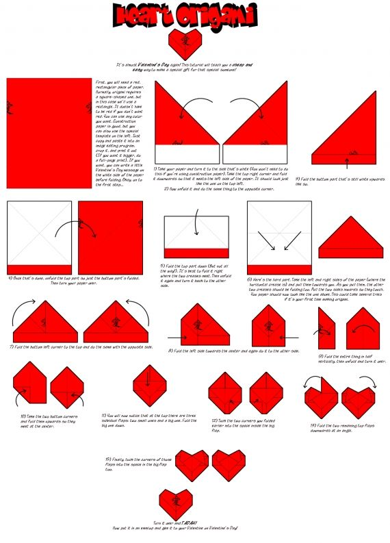 Best 25 origami coeur ideas on pinterest origami facile - Coeur origami facile ...