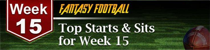 Week 15 Fantasy Football Advice