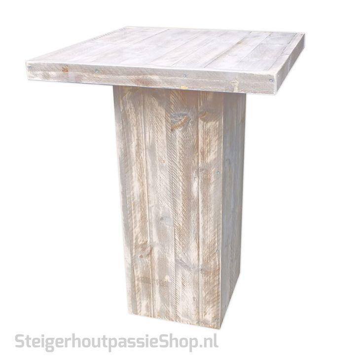 Steigerhouten Staan-Tafel