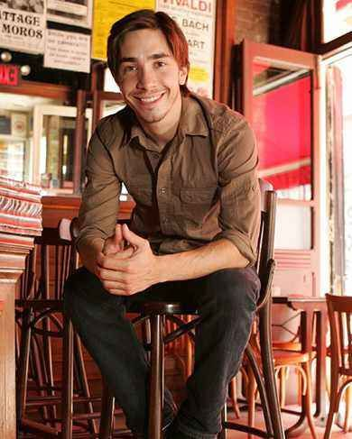 Justin Long. I don't know what it is but he's so sexy!