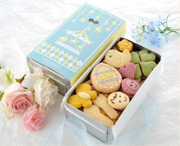 出産内祝いにおすすめ パーソナルクッキー(缶入りクッキー)写真