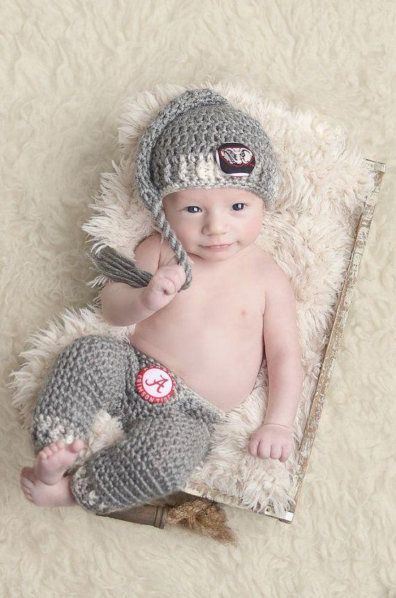 Alabama Crimson Tide  Big Al  Infant Stocking par SweetnessInSmyrna