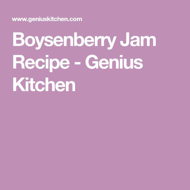 Boysenberry Jam Recipe - Genius Kitchen