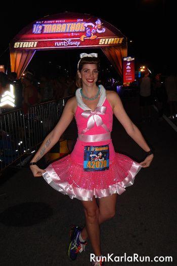 Cinderella Running outfit - Disney World Half Marathon