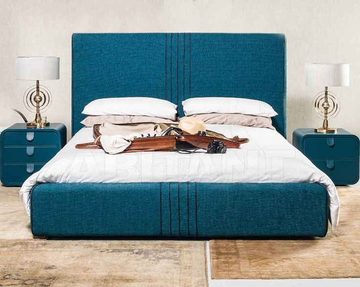 Кровать синяя Nottebrava by Oma Complements s.r.l. atelier letto , Москва