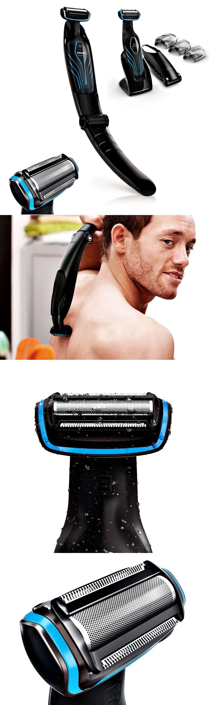 Mens Shavers: New Philips Body Groomer Shaver Men S Trimmer Groommig With Back Attachment -> BUY IT NOW ONLY: $164.51 on eBay!
