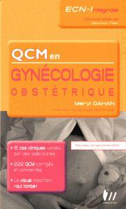 Meryl Dahan - QCM en gynécologie-obstétrique.