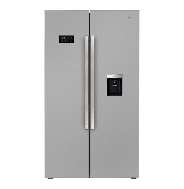 DEFY 694 l Side-by-Side Fridge\Freezer with Water Dispenser - Lowest Prices & Specials Online | Makro
