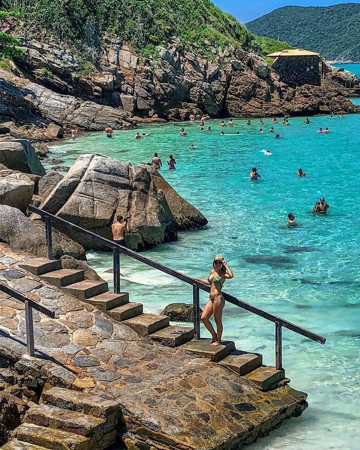 Pontal Do Atalaia Arraial Do Cabo Rio De Janeiro Brasil Dica