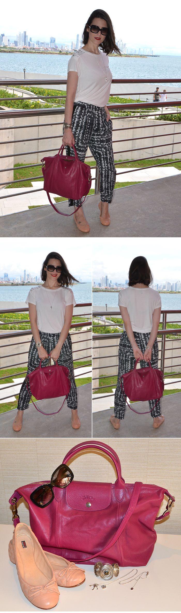 Como usar calça estampada  Look da Cinthia Ferreira do MakeUp Atelier #ModaNoMake