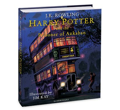 Have you seen the new cover for Jim Kay's Illustrated Prisoner of Azkaban?!