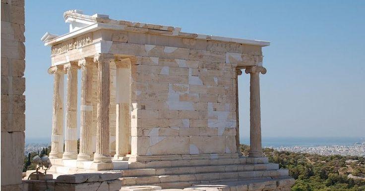Templo de Atena Nike em Atenas | Grécia #Atenas #Grécia #europa #viagem
