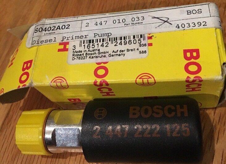 Bosch Genuine Diesel Primer Pump 2447222125 Mercedes New Bosch Bosch Primer Mercedes