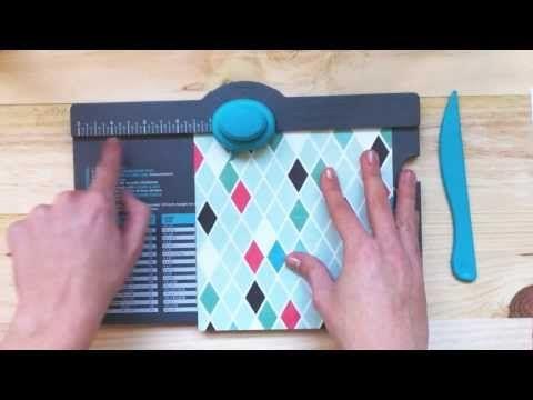 Cómo usar el 'Envelope Punch Board' - YouTube