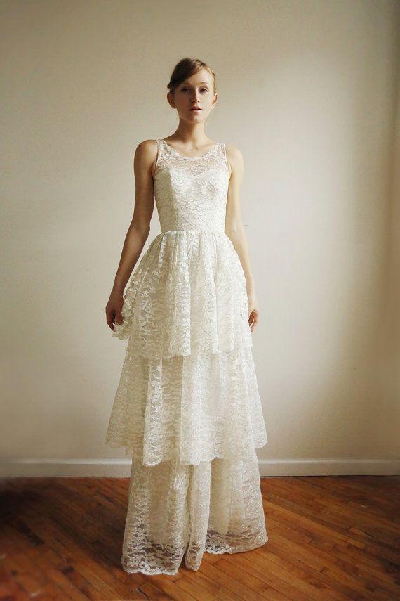 Ardelis robe de mariée en dentelle par Leanimal sur Etsy