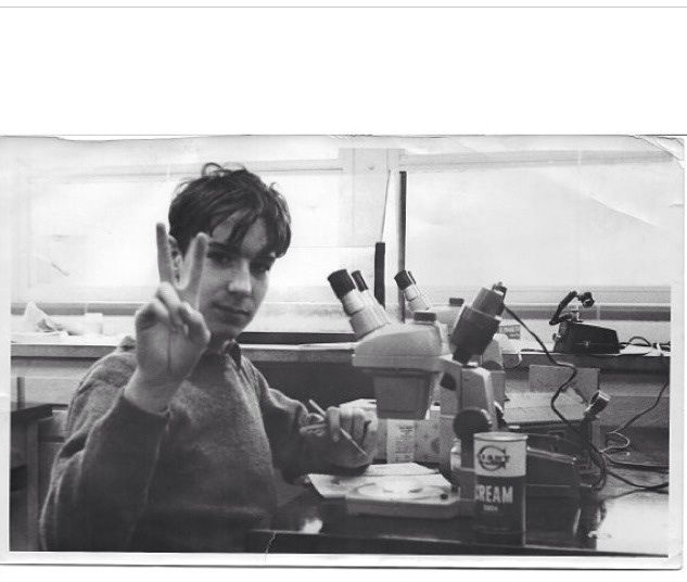 Bill Nye just posted this to Instagram. It's him in 9th grade science class