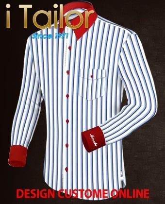 Design Custom Shirt 3D $19.95 kostuum pakken Click http://itailor.nl/pak/