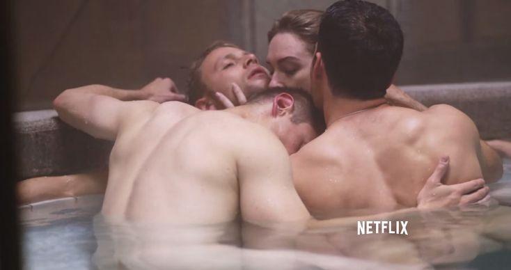"Netflix Debuts Steamy Trailer For New Original Series ""Sense8″"