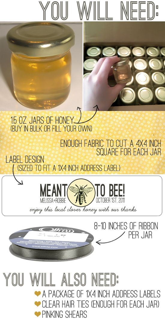 Perfect wedding project for my dad, the beekeeper.