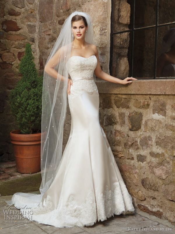Lace Mermaid Wedding Dress Ireland : Best images about wedding dresses and veils on