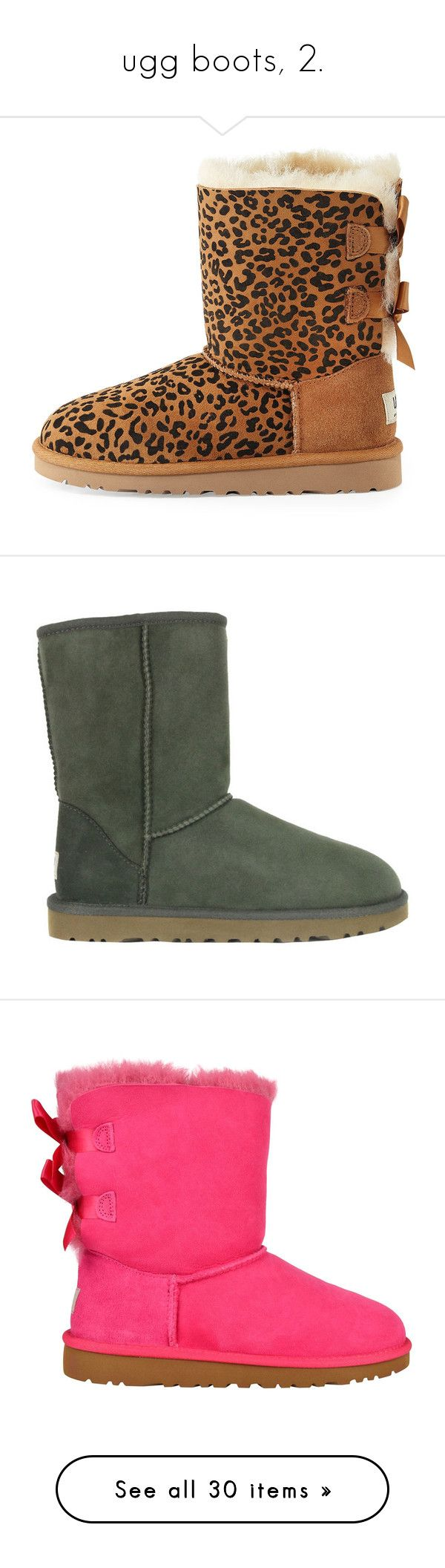 """""""ugg boots, 2."""" by theimanimo ❤ liked on Polyvore featuring shoes, boots, ankle booties, uggs, synthetic boots, ugg australia, sheepskin ankle boots, ankle boots, short ankle boots and footwear"""