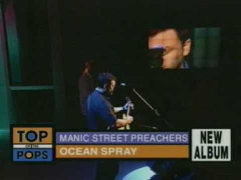 Manic Street Preachers - Ocean Spray (TOTP) - YouTube