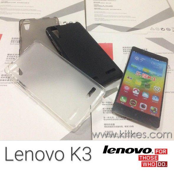 Matte TPU Soft Case Lenovo A6000 - Lenovo K3 - Rp 50.000 - kitkes.com