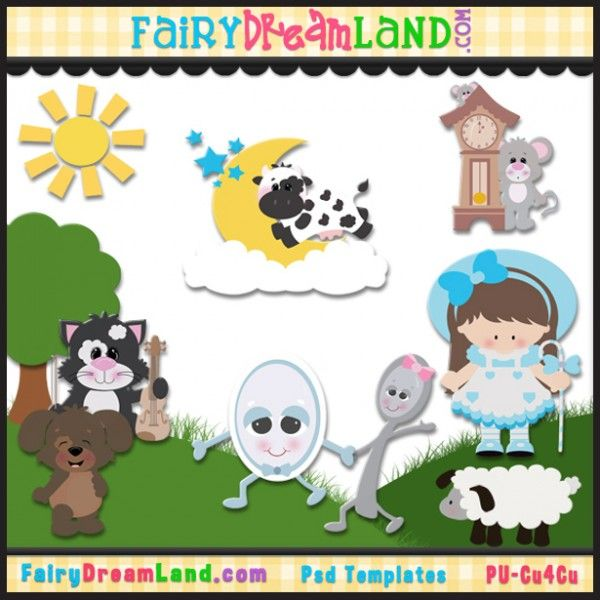 free clipart images nursery rhymes - photo #19