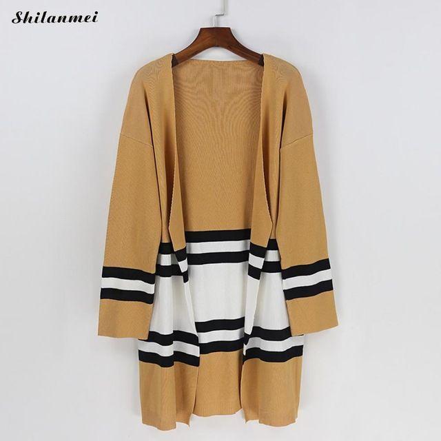 Get Promo $18.98, Buy 2017 Women Kimono Cardigan Knitted Chiffon Blouse Shirt Female Long Casual Chiffon Cardigans Kimonos ropa de mujer moda 2017