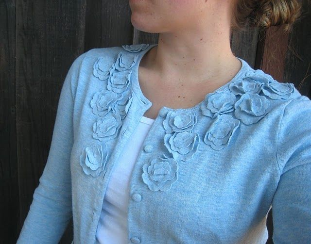 diy cardigan You have to dig for this one, but totally ...