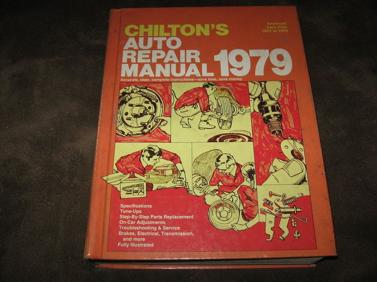 8 best auto repairs images on pinterest repair manuals engine and manualspro fabulous vintage 1979 chiltons auto repair manual covers 1972 1979 look fandeluxe Choice Image