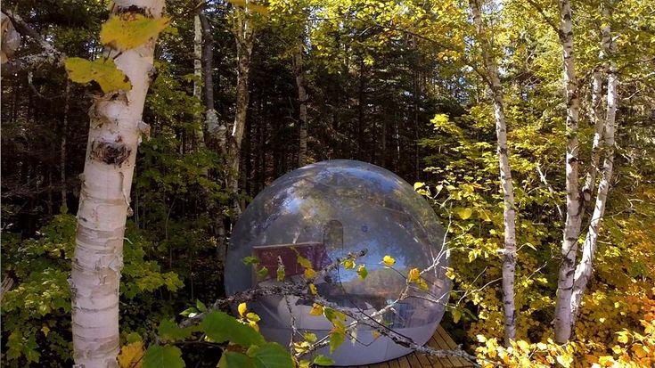 10 #campings insolites : voici ce que vous propose cet article qui vous donne des idées de campings originaux à travers le #Québec.