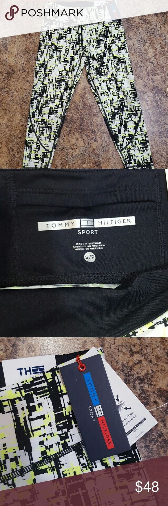 Nwt Tommy Hilfiger leggings New with tags  Tommy Hilfiger sport leggings  Size:small Tommy Hilfiger Pants Leggings