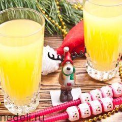Рецепты напитков на Новый год / Меню недели