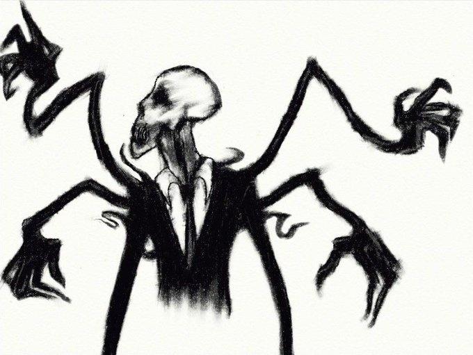 slender men