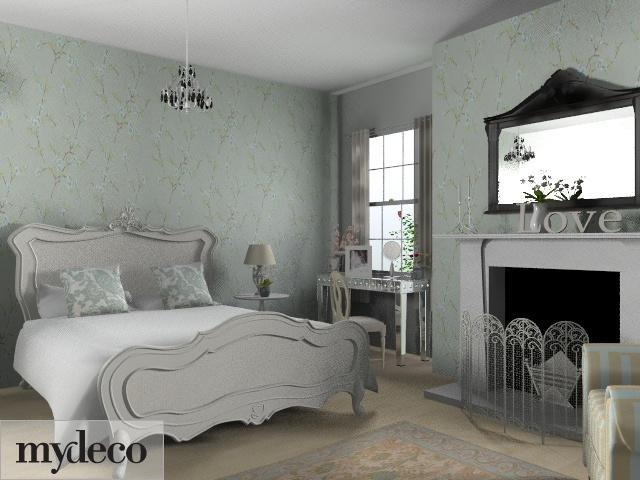 134 best shabby chic cream french boudoir spare room for Boudoir bedroom ideas